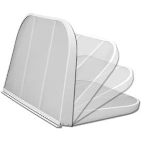 White Thermal Hinge Cover