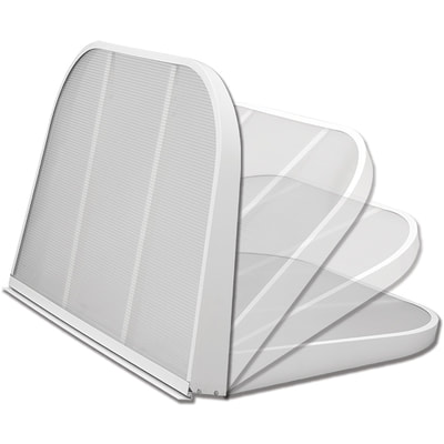Monarch White Thermal Hinge Cover